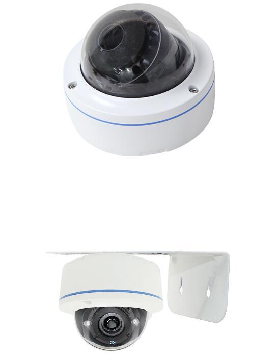 捷易C192人脸识别无感比对抓拍半球摄像机