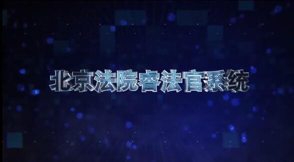 """北京法院""""睿法官""""系统"""
